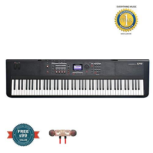 Kurzweil SP6 88-Key Stage Piano (SP6-8) includes F