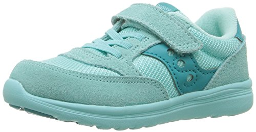 Saucony Baby Jazz Lite Sneaker (Toddler/Little Kid/Big Kid), Turquoise, 10.5 M US Little Kid by Saucony
