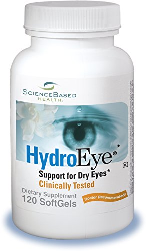 (HydroEye Softgels - Dry Eye Relief - 120 Count)