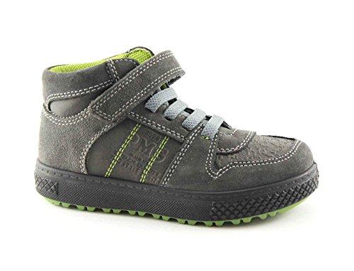 chaussures lacets gris 36 Grigio bébé 40 sneaker PRIMIGI sport 66291 élastiques déchirent mi wWqpScFXc