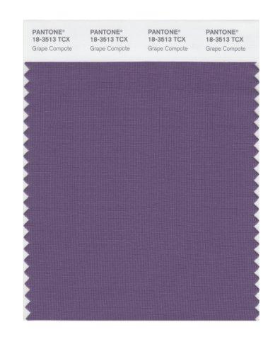 PANTONE Smart 18-3513X Color Swatch Card, Grape Compote