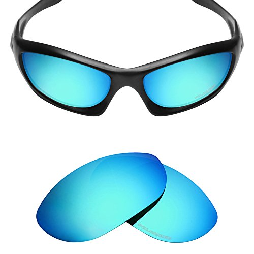 Mryok+ Polarized Replacement Lenses for Oakley Monster Dog - Ice - Lenses Dog Polarized Monster Oakley
