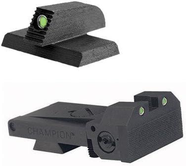 Kensight BoMar BMCS 1911 Sight Set - Night Sights with Beveled Tritium Blade - Tritium 0.190 Front Sights