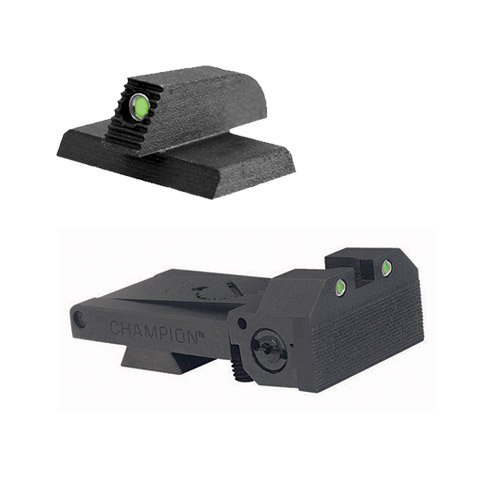 BoMar BMCS 1911 Kensight Sight Set - Night Sights with Beveled Tritium Blade - Tritium 0.190'' Front Sights by Kensight