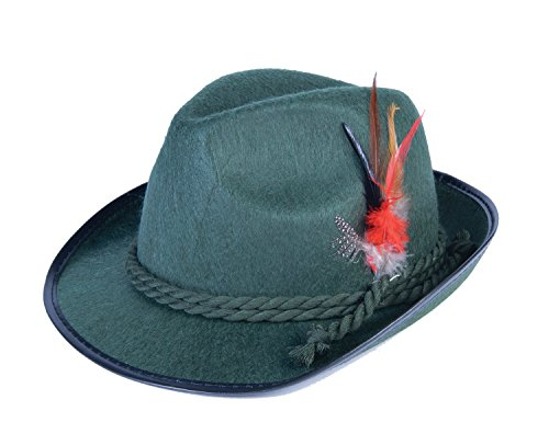 Theater Costumes For Sale (Forum Novelties Men's Deluxe Adult Oktoberfest Costume Hat, Green, One Size)