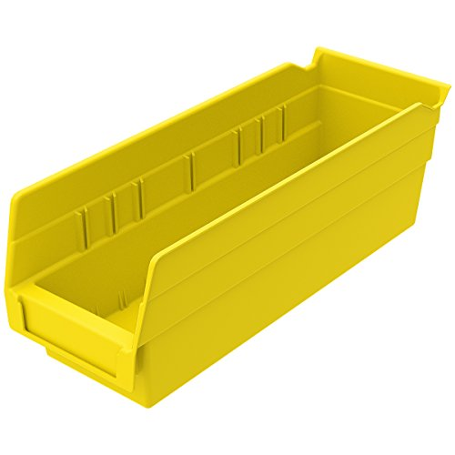 - Akro-Mils 30120YELLO Shelf Bin (24 Pack), 11-5/8