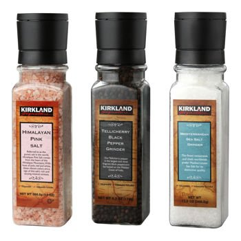 Kirkland Signature™ Salt and Pepper Grinder Set - 3-pack
