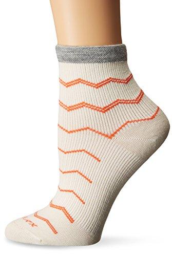 Sockwell Women's Plantar Ease Firm Compression Socks, Natural, Medium/Large