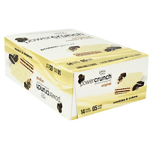 Bionutritional Research Group Power Crunch, Cookies and Cream, 5 ()