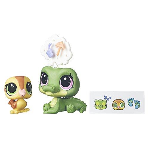 Hasbro Littlest Pet Shop Alia Lagarto & Dabble Von Quack