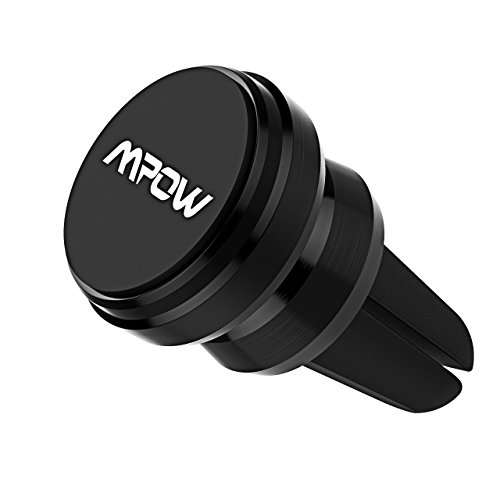 2 Pack Universal Air Vent Magnetic Cell Phone Holder for Phone Samsung Galaxy Nexus and More LG Black SUPRBIRD Car Phone Mount