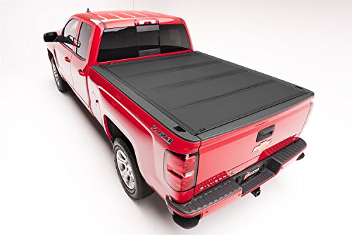 BAKFlip MX4 Hard Folding Truck Bed Tonneau Cover | 448506 | fits 2005-19 Nissan Frontier 5' bed