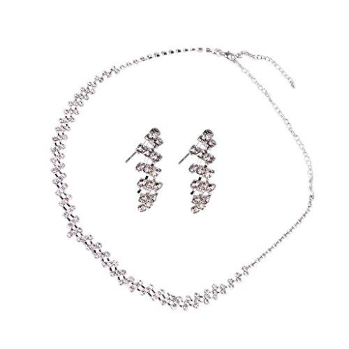 Aioverun necklace earrings bracelet jewelry