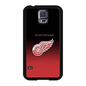 Detroit Red Wings Design Ice Hockey Team Symbol Solid Case Cover for Samsung Galaxy S5 I9600 Designed by HnW Accessories by mcsharks