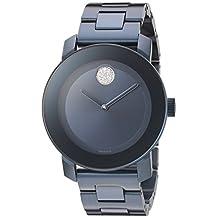 Movado Women's 3600388 Analog Display Swiss Quartz Blue Watch