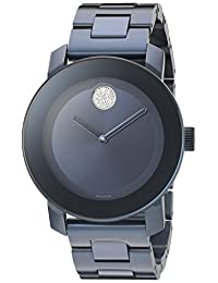Movado Women's 3600388 Analog Display Swiss Quartz Blue Watch