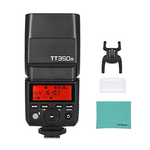 Godox Thinklite TT350N ミニ 2 4G ワイヤレス TTL カメラ フラッシュ マスター& スレーブ スピードライト 1/8000s  高速同期 Nikon D800 D700 D7100 D7000 D5200 D5100 D5000 D300 D3200 D3000 D2000 D70S D810など用の商品画像