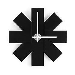 Normann Copenhagen Watch Me Wall Clock in Black - 11 inch