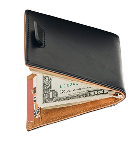 Stealth Mode Minimalist Leather Bifold