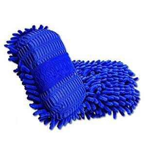 PeachFYE 2pcs Car Wash Gloves Car Cleaning Sponge Car Window Cleaning Ultrafine Fiber Chenille Anthozoan Washer Sponge Brushes by PeachFYE (Image #6)