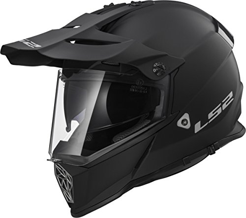- LS2 Helmets Motorcycle & Powersports Helmet's Off-Road Style Adventure Pioneer V2 (Matte Black, X-Large)