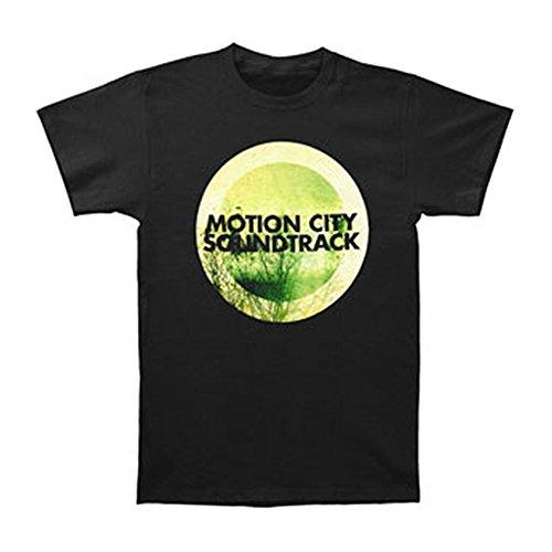 Chronic Motion City Soundtrack Men's GO Album Logo Slim Fit T-Shirt - Soundtrack Motion Apparel City