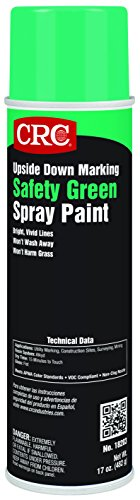 Upside Down Marking Paints-Safety Green, 17 Wt ()