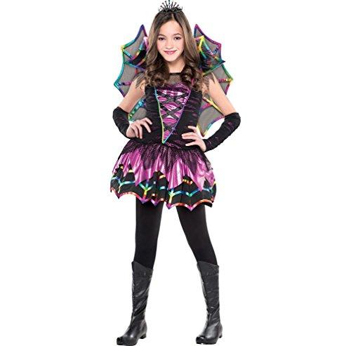 Amscan Spider Fairy - Medium (8-10) Costume Party Attire -