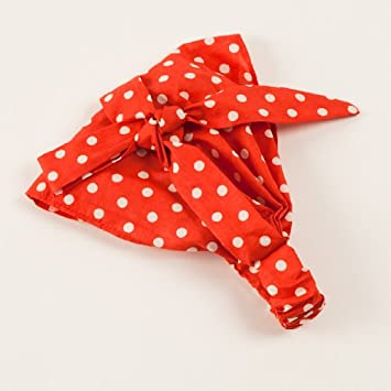 Amazon.com   Bow Bandana Headband (red)   Beauty 9d806b6a100
