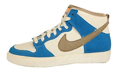 Nike Hommes Sneakers DUNK HIGH AC beige/bleu/kaki 476627-105