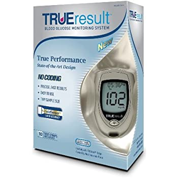 Amazon Com Trueresult Blood Glucose Monitoring System