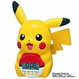 SEIKO CLOCk POKEMON PIKACHU Alarm clock JF373A