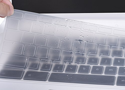 Asus-Chromebook-Flip-C302CA-Keyboard-Cover-CASEBUY-Silicone-Anti-Dust-Keyboard-Protector-Skin-for-ASUS-Chromebook-Flip-C302CA-125-Inch-Chromebook-Laptop-Clear