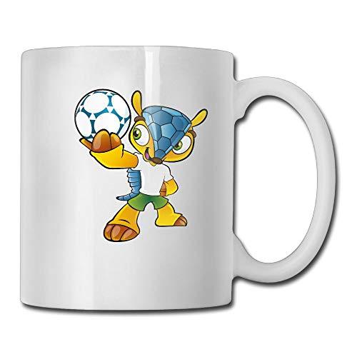 AiguanCartoon Mascot 11oz Tea Cup Coffee Mug ()