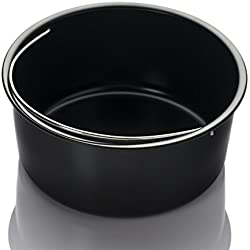 Air Fryer Accessories - Universal Airfryer Accessory (Non-stick Dish)- Fits Philips, Cooks Essentials, Black and Decker, Farberware, Power, Gowise and Many more Brands, Fit all 3.7qt , 5.3qt , 5.8qt