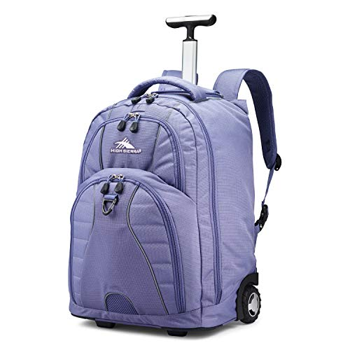 High Sierra Freewheel Wheeled Laptop Backpack, 15-inch Student Laptop Backpack (The Best Cheap Laptops For Students)