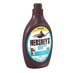 HERSHEY\'S Lite Chocolate Syrup, 18.5 Ounce