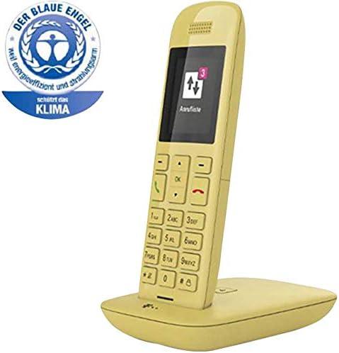Telekom Speedphone 11 - Teléfono IP (Amarillo, Terminal inalámbrico, 50 m, 300 m, TFT, 220 x 176 Pixeles): Amazon.es: Electrónica