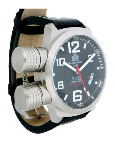 XL-U-Boot watch special protected crown with automatical movement by Tauchmeister