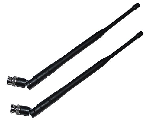 UHF Receiver Antennas for Shure UHF-R,ULX,SLX,QLX-D,ULX-D,BLX4R (Ulx Series Wireless Microphone)
