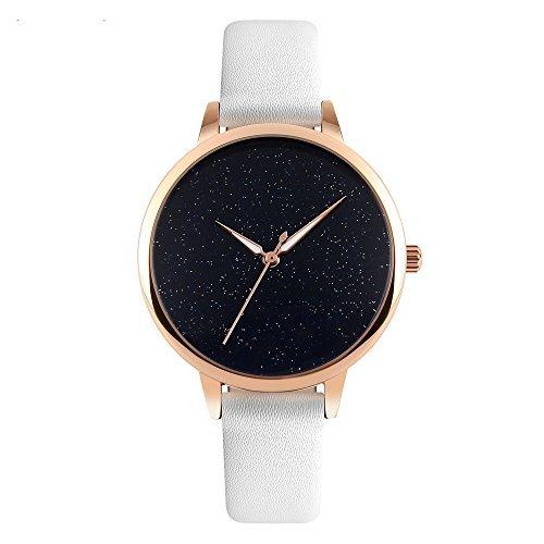 J. Reloj de cuarzo mercado Womens 50metros resistente al agua reloj Dial de Creative Starlight en venta regalo de...