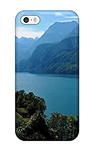 Aarooyner Case Cover Protector Specially Made For Iphone 5/5s Mountains River Forest Amp Digital wangjiang maoyi