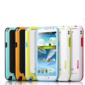 Multicolor TPU Frame Case For Samsung Note Galaxy Note 3 N9000 --- Color:yellow&black