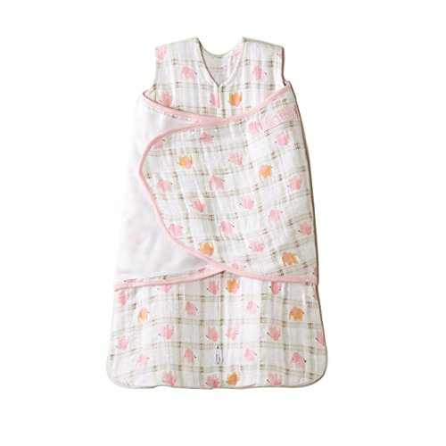 Cotton Muslin Sleepsack Swaddle Elephant product image