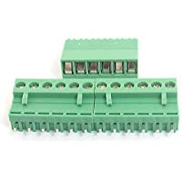 300V 10A 6 Pin 5.08mm PCB tornillo enchufable