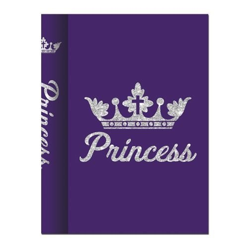 """Office Products : African American Expressions - Princess Purple Journal (128 pages, 6.25"""" x 8.5"""") J-178"""