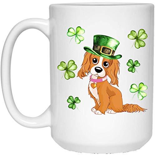 Cavalier King Charles Spaniel Leprechaun Patricks Day Mug