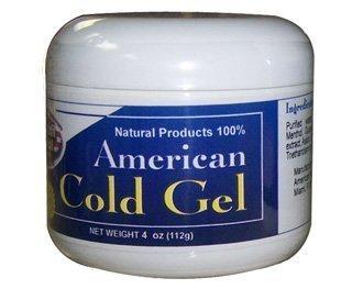 American Natural Cold Gel 4 oz Excessive Body Fat Burner Reducer