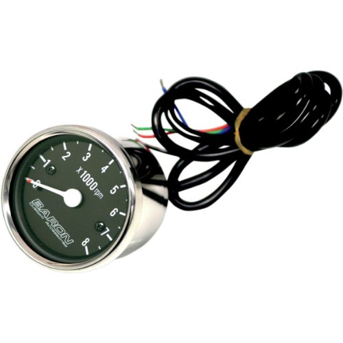 Baron Custom Accessories Replacement Tachometer Internals (BLACK)