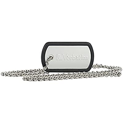 Verbatim Dog Tag USB Flash Drive by VEBL9